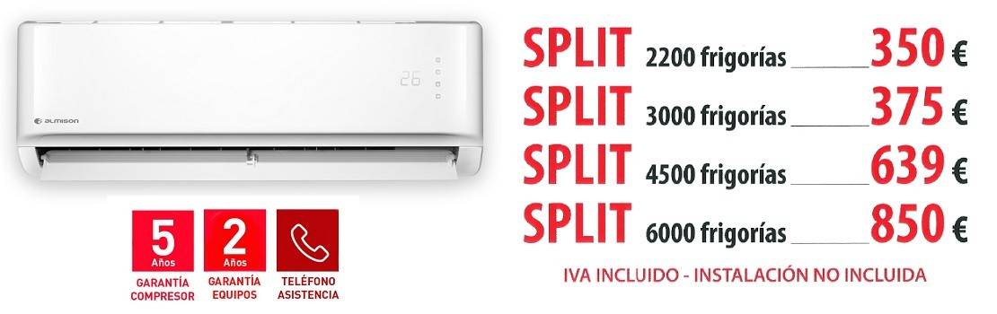 Oferta Aire Acondicionado Inverter Refrigerante Ecológico R32